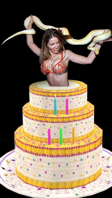 taart dame Vrouw Uit Taart   ARCHIDEV taart dame